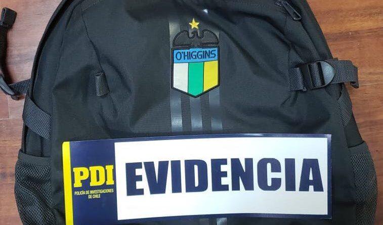 PDI INVESTIGA ROBO QUE AFECTÓ A ENTRENADOR DE INFERIORES DE O´HIGGINS