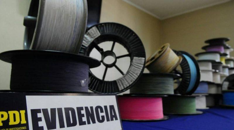 PDI INCAUTA ALREDEDOR DE 30 MIL METROS DE HILO CURADO EN RANCAGUA