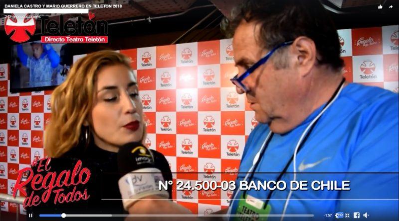 DANIELA CASTRO Y MARIO GUERRERO MOTIVARON A CHILE EN DATOVISION.CL